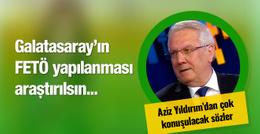 Aziz Yıldırım'dan Galatasaray'a FETÖ göndermesi