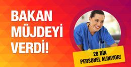 Sağlık Bakanlığı personel alımı 2016