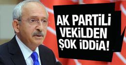 AK Partili vekilden şok iddia! Kılıçdaroğlu'na...