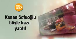 Kenan Sofuoğlu böyle kaza yaptı!