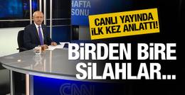 Kılıçdaroğlu saldırı anını canlı yayında anlattı!