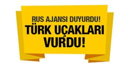 Rus ajansı duyurdu! TSK YPG'yi vuruyor