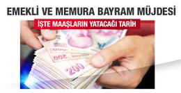 2016 Kurban Bayramı öncesi emekli maaşları yatacak!