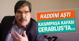 PYD'li Salih Müslim'den Erdoğan'a çirkin tehdit