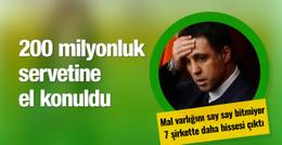 Hakan Şükür'ün 200 milyonluk servetine el konuldu