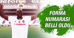 Beşiktaş'ın yeni transferinin forma numarası belli oldu
