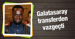 Galatasaray Cheick Tiote transferinden vazgeçti
