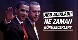 ABD'den Obama-Erdoğan görüşmesi açıklaması