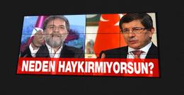 Ahmet Hakan'dan Ahmet Davutoğlu'na