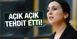 Figen Yüksekdağ'dan 'Münbiç ' tehdidi