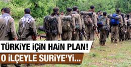 PKK'nın hain Türkiye planı! O ilçeyle Suriye'yi...
