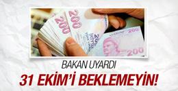 Vergi affı konusunda Ağbal'dan flaş uyarı