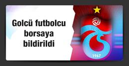 Trabzonspor Cardozo'yu KAP'a bildirdi