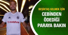 Caner Erkin'den Beşiktaş için büyük fedakarlık