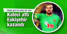 Boffin attı Eskişehirspor puanı kaptı!