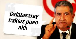 Mahmut Uslu: Galatasaray haksız puan aldı