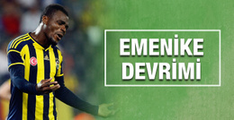 Fenerbahçe'de Emenike devrimi