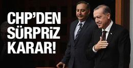 CHP'den sürpriz Cumhurbaşkanı kararı!