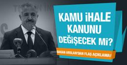 Ulaştırma Bakanı Arslan'dan flaş açıklamalar!