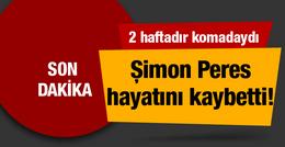 Şimon Peres hayatını kaybetti! İki haftadır komadaydı