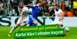 Beşiktaş Dinamo Kiev karşısına çıkıyor