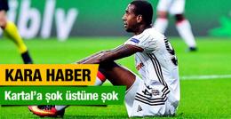 Beşiktaş'ta sakatlık şoku! Durumu ciddi