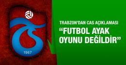 Trabzonspor'dan zehir zemberek CAS açıklaması