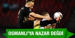 Osmanlıspor Zürich'e mağlup oldu