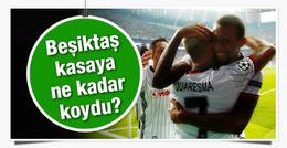 Beşiktaş kasaya ne kadar koydu?