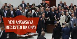 Yeni anayasa teklifinin tüm maddeleri geçti!