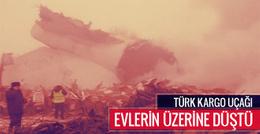 Türk kargo uçağı düştü olay yerinden ilk görüntüler