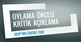2. tur oylama öncesi MHP'nin önemli isminden kritik açıklama