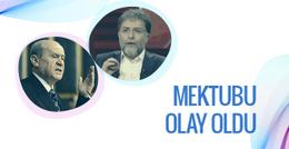 Ahmet Hakan'dan Bahçeli'ye olay mektup