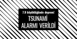 7.9 büyüklüğünde deprem oldu! Tsunami alarmı verildi