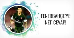 Jose Sosa'dan Fenerbahçe'ye net cevap