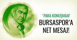 Samet Aybaba'dan Bursaspor'a mesaj!