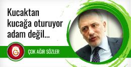Galatasaraylı yöneticiden Fatih Altaylı'ya şok sözler
