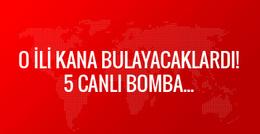 Şanlıurfa'da 5 canlı bomba yakalandı!