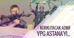 Korkutacak gelişmeyi Reuters duyurdu! YPG Astana'yı...