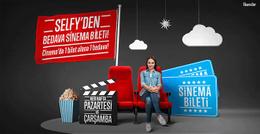 Selfy'den sinema bileti