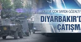 Diyarbakır'da PKK'lı kadın özel harekat ile çatıştı!
