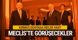 Yıldırım ve Kılıçdaroğlu Meclis'te görüşecek