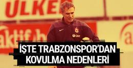 Ersun Yanal'ın Trabzonspor'dan kovulma nedenleri