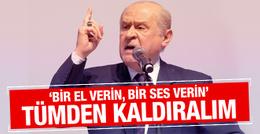 Bahçeli'den hükümete 'üniversite sınavını kaldıralım' çağrısı!