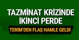 Fatih Terim'in tazminatında flaş gelişme! ..