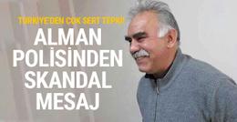 Cumhurbaşkanlığı'ndan Almanya'ya çok sert Öcalan tepkisi!