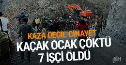 Şırnak'ta maden ocağında göçük: Çok sayıda ölü var!