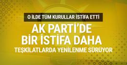 AK Parti Konya il yönetimi istifa etti!