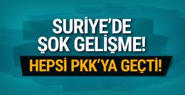 Suriye'de şok gelişme! O silahlar PKK'nın eline geçti