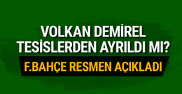 Fenerbahçe'den flaş Volkan Demirel açıklaması